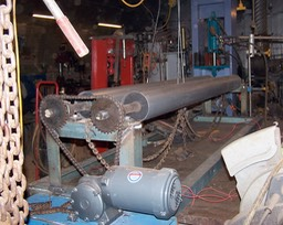 PIPE ROLLING MACHINE BUILT FOR DARREN ELLIS