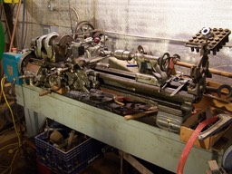 "1962 South Bend Model A 9"" Metal Lathe. Serial# 49668NAR10, CL-8644A"