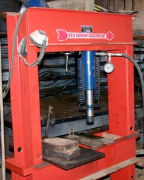 Air driven Hydraulic press